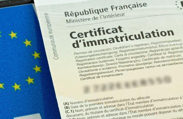 Taxe co2 carte grise certificat d 39 immatriculation - Cabinet jourdan blaya ...