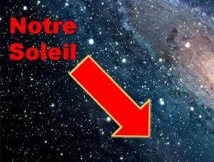 Photo de notre galaxie envoyée par la sonde Voyager 1