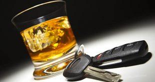 verre d'alcool/clé de voiture