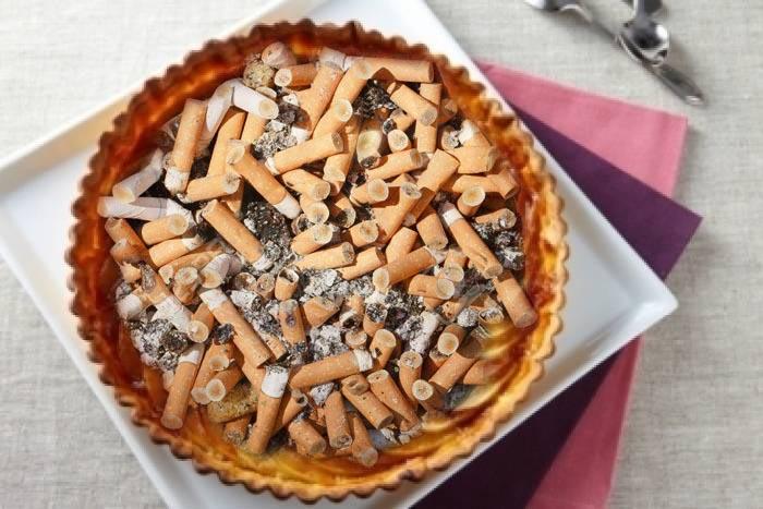 dessert idée Idée dessert : la tarte aux mégots dessert idée