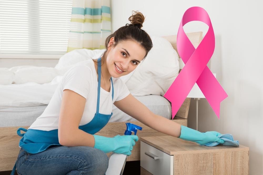 faire le m nage r guli rement diminuerait significativement le risque de cancer du sein chez la. Black Bedroom Furniture Sets. Home Design Ideas